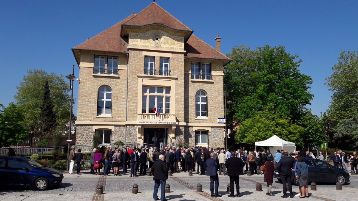 Inauguration de l'hôtel de Police de Velizy