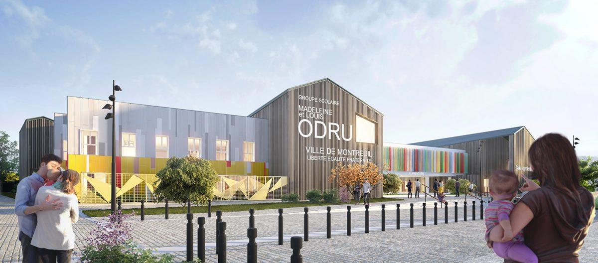 inauguration de l'école ODRU