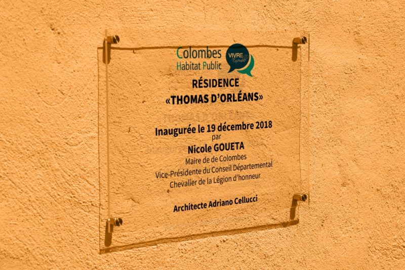 inauguration de 7 logements à Colombes
